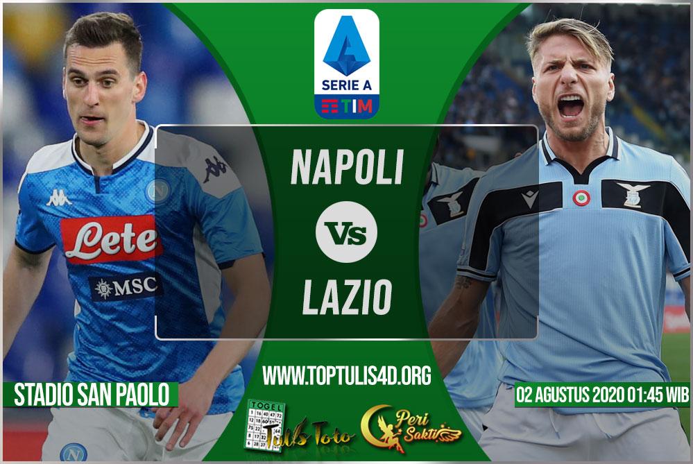 Prediksi Napoli vs Lazio 02 Agustus 2020