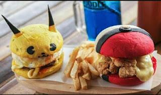Manisnya usaha burger karakter
