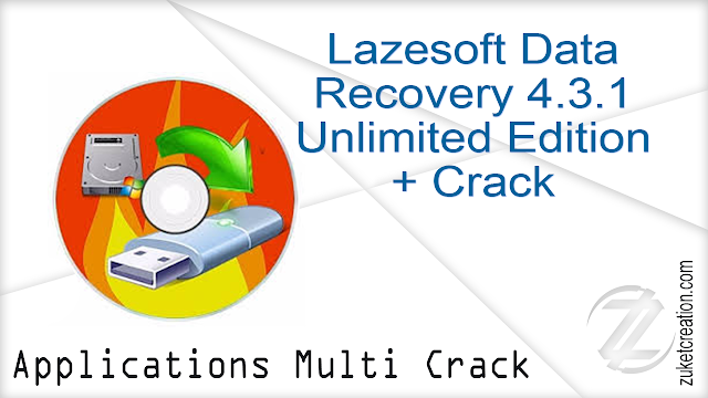 Lazesoft Data Recovery 4.3.1 Unlimited Edition + Crack