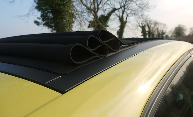 Renault Twingo folded electric roof