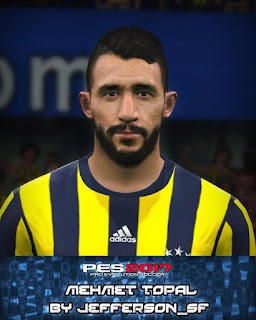 PES 2017 Faces Mehmet Topal by FaceEditor Jefferson_SF