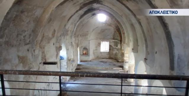 Βεβήλωσαν μοναστήρι στα Κατεχόμενα - Έκλεψαν καμπάνα 300 κιλών - Δείτε ΒΙΝΤΕΟ