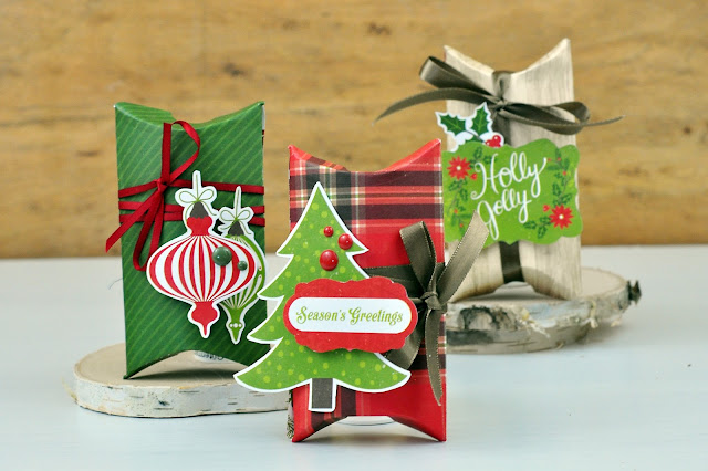 How to die cut Christmas packages and gift boxes with Jen Gallacher. #giftbox #christmaspackage #christmascraft #diecutting