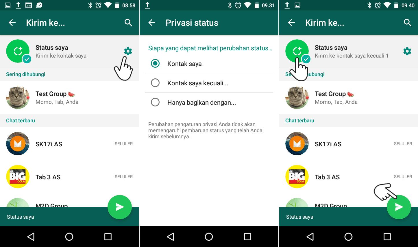 Cara Membuat Status Whatsapp Dengan Foto Dan Video Memudahkan