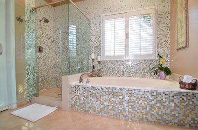 Glass Mosaic Bathroom
