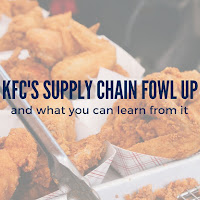 What You Can Learn From KFC's Supply Chain 'Fowl-Up'