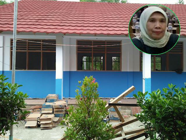 Rehabilitasi Gedung SMPN PGRI Bayah Dilaksanakan Sesuai RAB