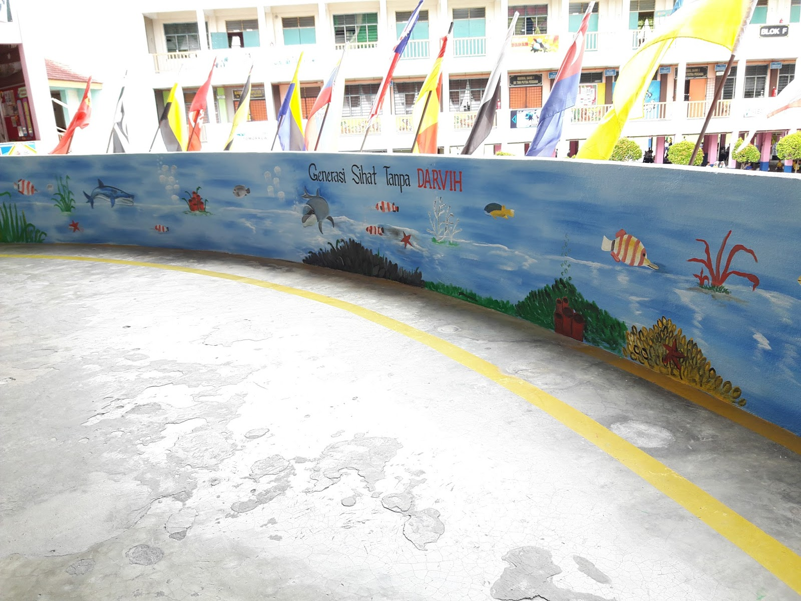 Sekolah kebangsaan taman putra perdana mural baru for Mural yang cantik
