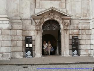 Entrada a la catedral de San Pablo, de Londres