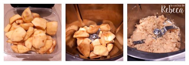Receta de bizcocho de membrillo  y nueces: preparación de la fruta