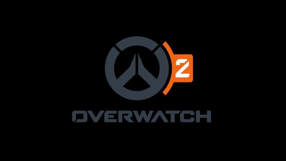 Overwatch 2 Logo Black 8k Wallpaper 7262