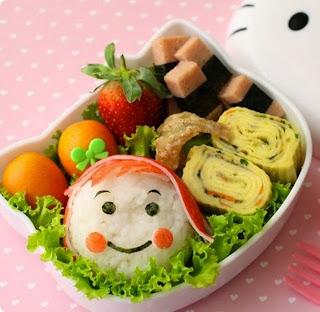 Kreasi bentuk makanan lucu untuk anak