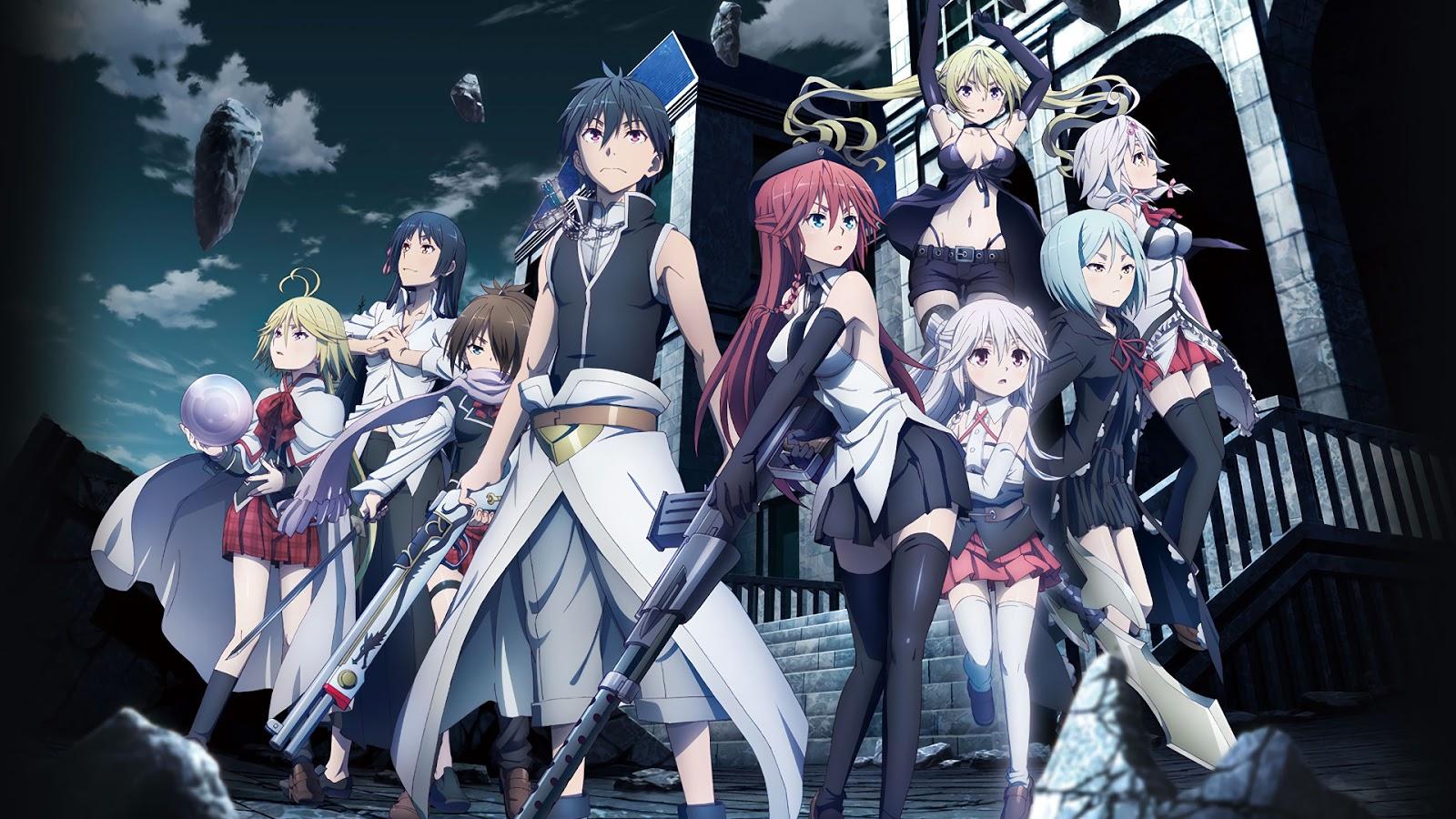 10 Rekomendasi Anime Harem School