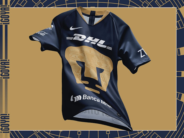bfae66806 This picture shows the Nike Pumas UNAM 2019 third shirt.