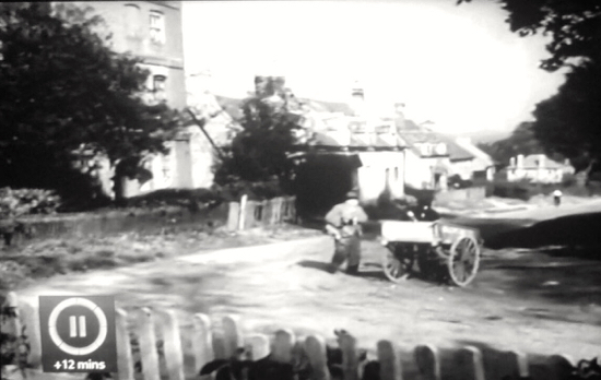 Bell Lane, Bell Bar, pictured in 1950 in Last Holiday Screen grab taken from the film source unknown