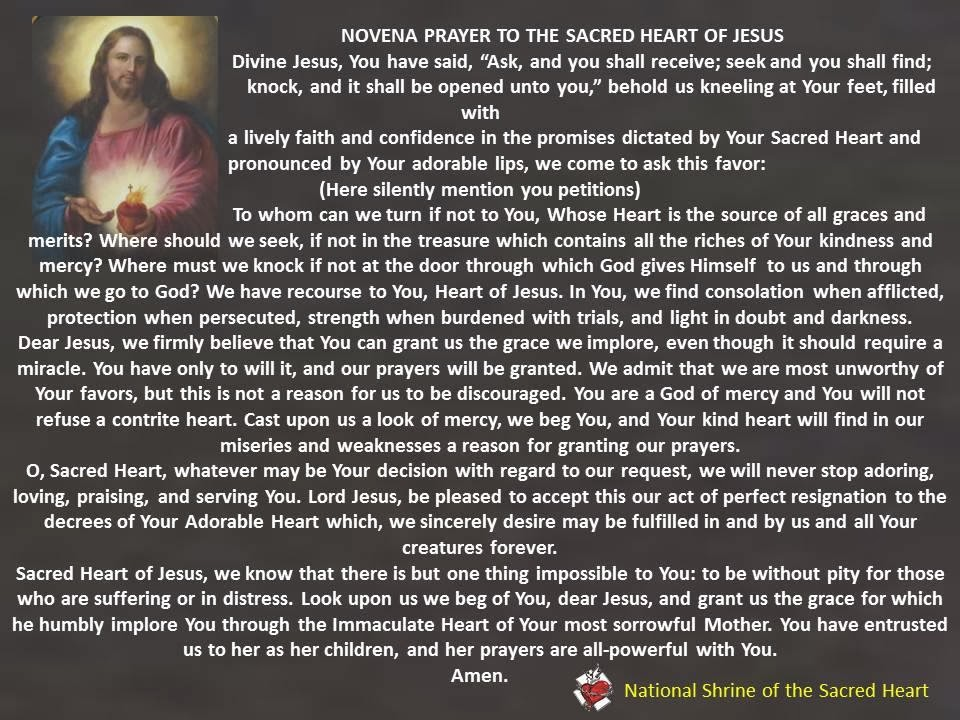Wednesday novena prayer