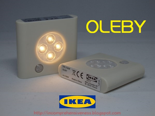 oleby ikea led. Black Bedroom Furniture Sets. Home Design Ideas