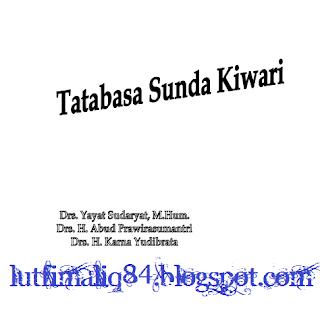 Download TATABASA SUNDA KIWARI.pdf