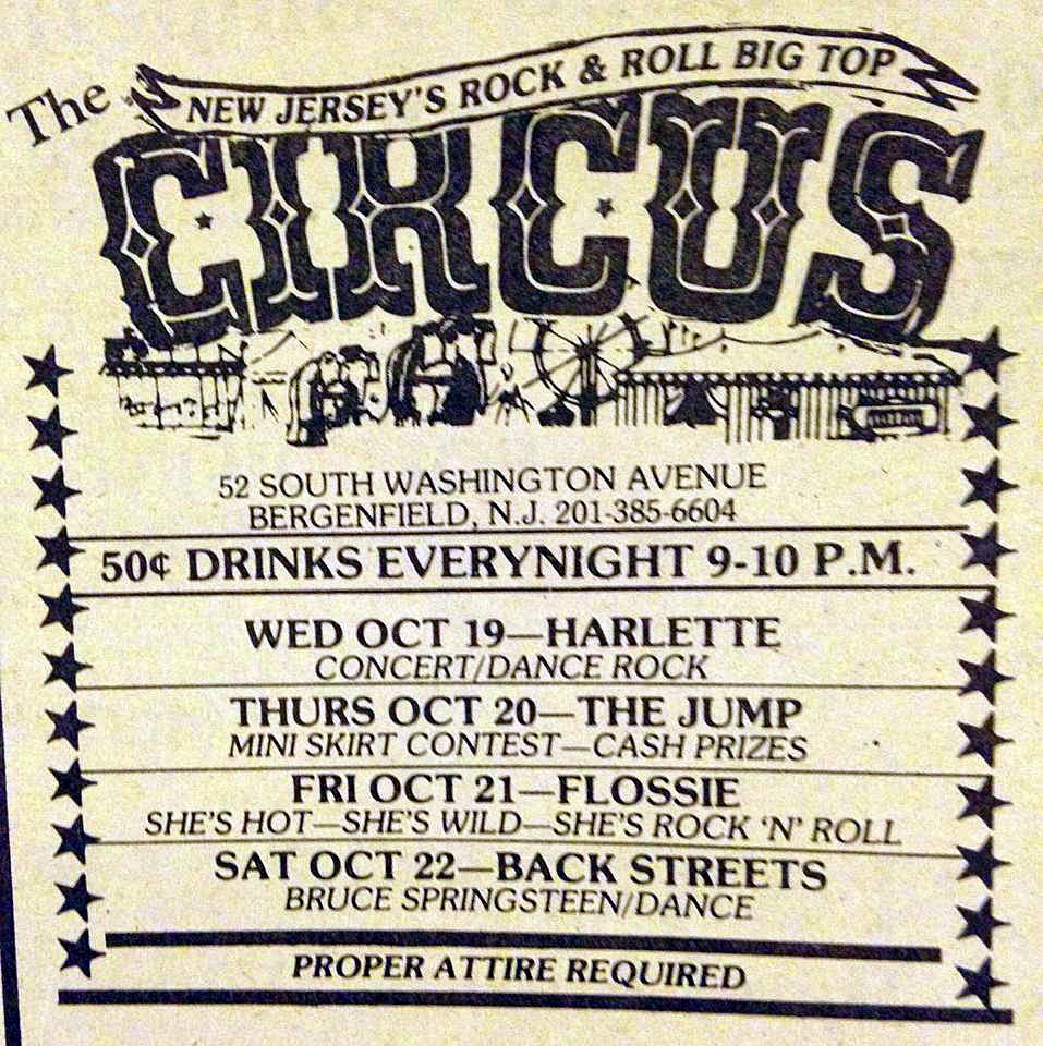 The Circus band line up