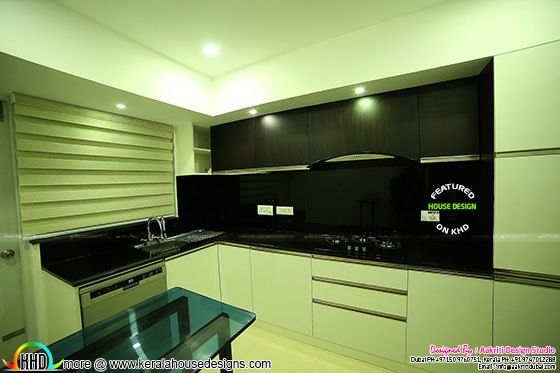 Kitchen interior finished