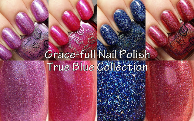 Grace-full Nail Polish True Blue Collection