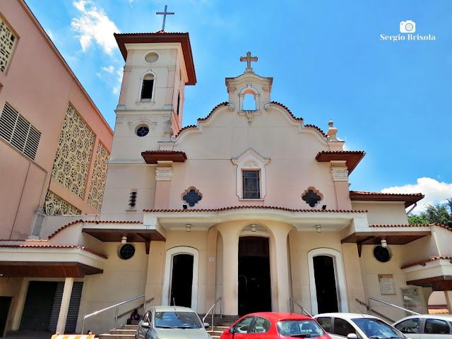 Vista ampla da Paróquia São Judas Tadeu (Igreja antiga) - Jabaquara - São Paulo
