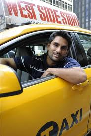 New York City cab driver