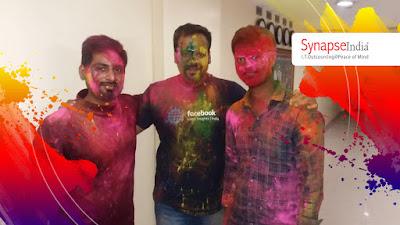 SynapseIndia Holi Celebration 2019