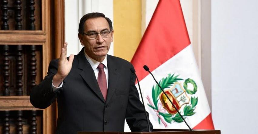 Presidente Vizcarra tendrá listo a su nuevo Gabinete este lunes