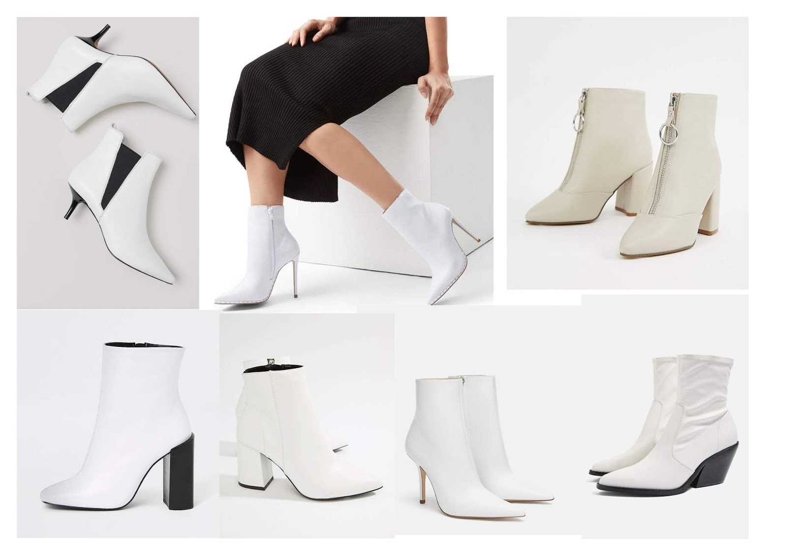 The White Ankle Boots Edit: The Fun Way To Finish Off Your Winter Outfits
