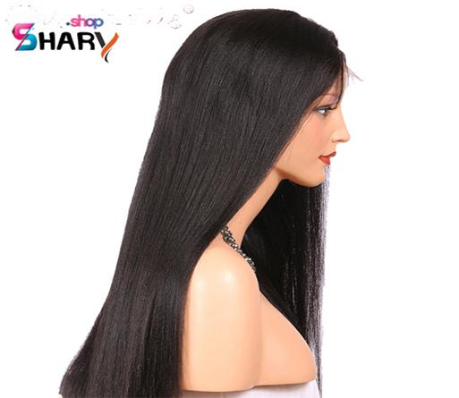 01754b389d30c باروكة شعر قاعدة حريرية شعر استريت 20 انش