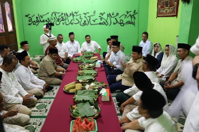 Santri Klaten Doakan Prabowo Jadi Presiden Amanah
