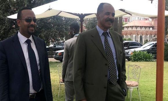 إريتريا وإثيوبيا تتفقان على انهاء عقدين من العداء و المضي قدما نحو تطبيق اتفاق الجزائر