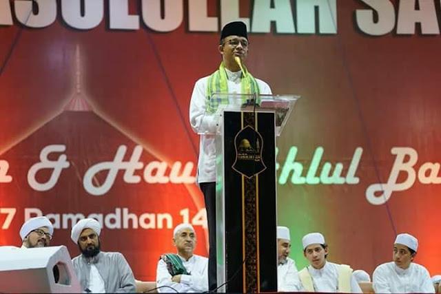 Sepi Pemberitaan, Begini Penampakan Nuzulul Qur'an di Monas
