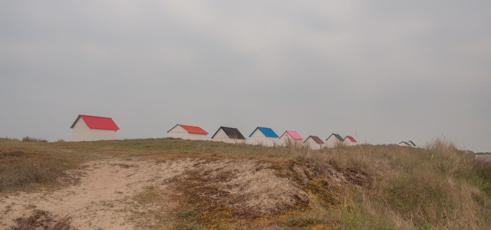 cabanes de gouville sur mer cotentin