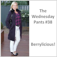 Sydney Fashion Hunter The Wednesday Pants #38 - Berrylicious