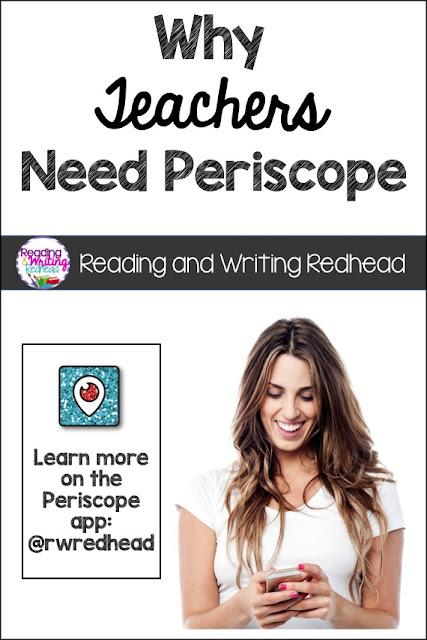 Why Teachers Need Periscope: a linky party