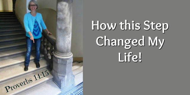 This one step changed by life in several ways. A good Biblical Lesson!