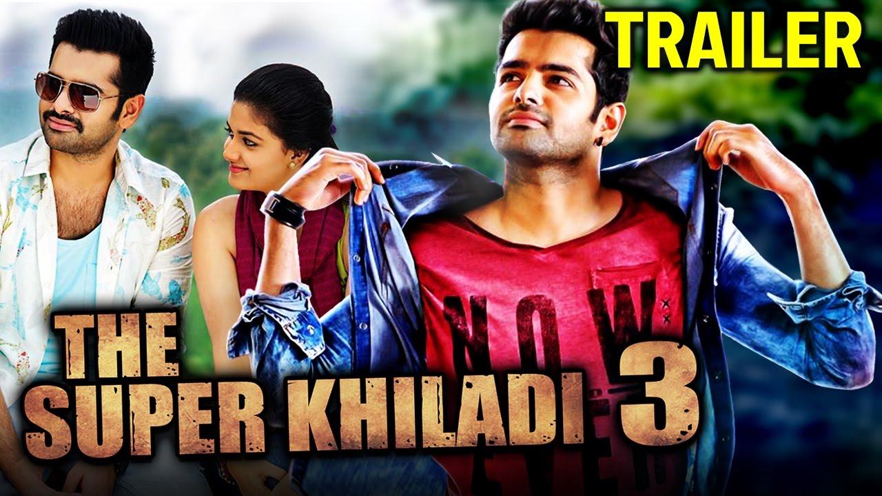 Ak Tha Khiladi Moovi Hindi: The Super Khiladi 3 (Nenu Sailaja) 2016 New Full Hindi