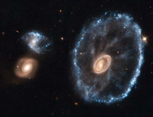 Cartwheel Galaxy (Galaksi Roda Gerobak)