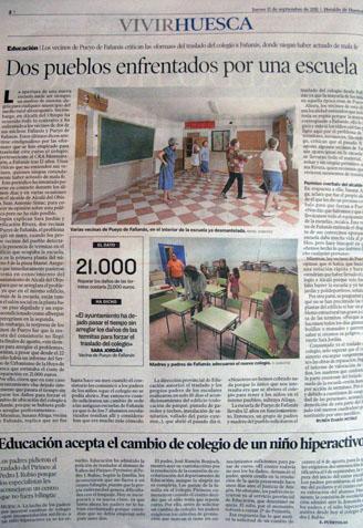 Fañanás: Dos pueblos enfrentados por una escuela