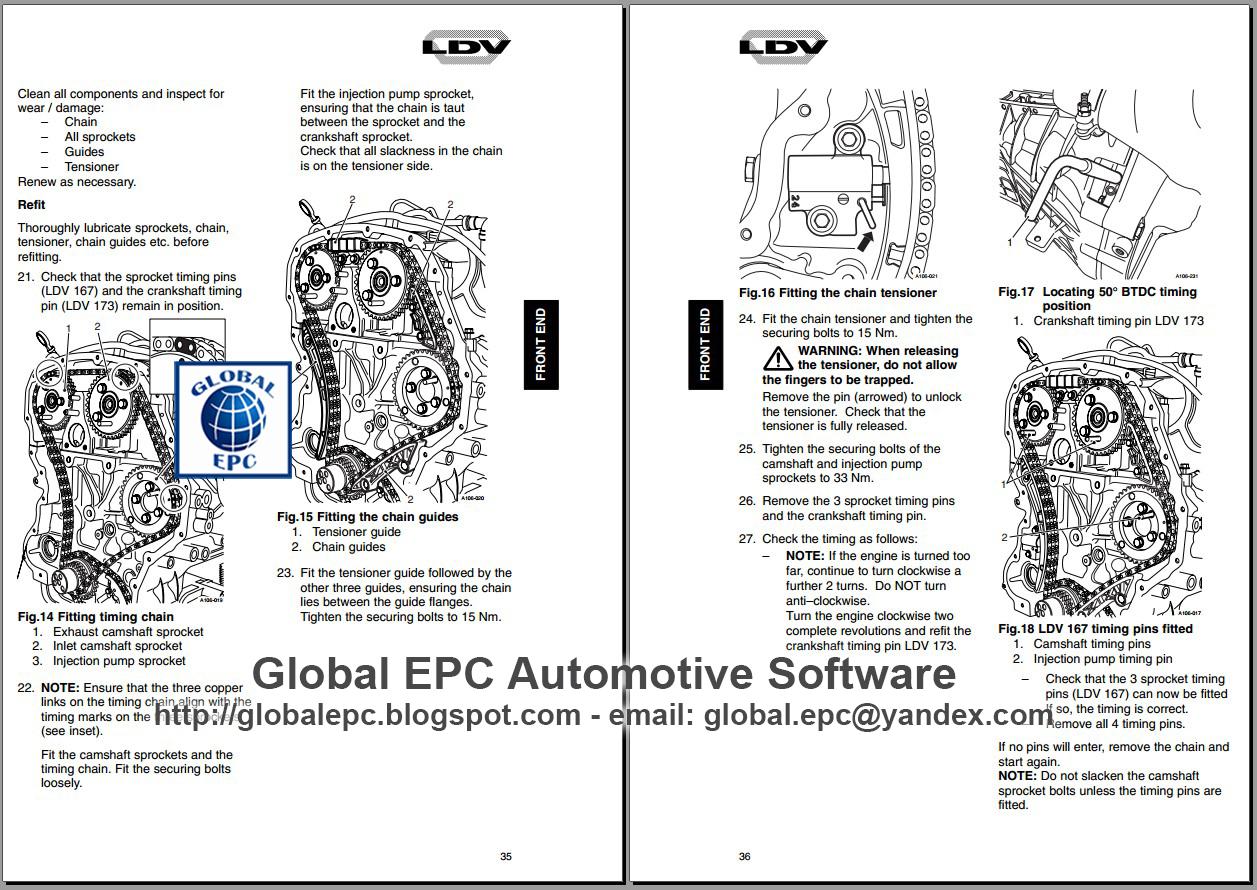 AUTO MOTO REPAIR MANUALS: LDV CONVOY PILOT WORKSHOP REPAIR