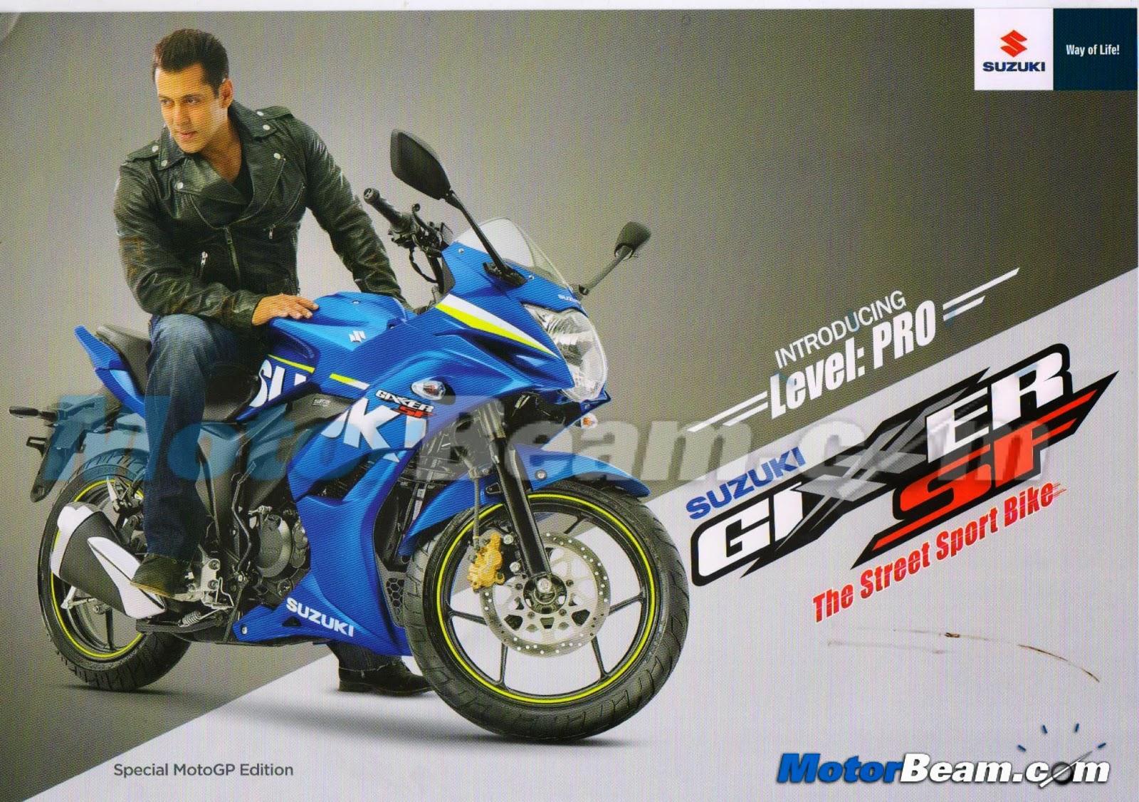 Ini dia tampang Suzuki Gixxer livery MotoGP