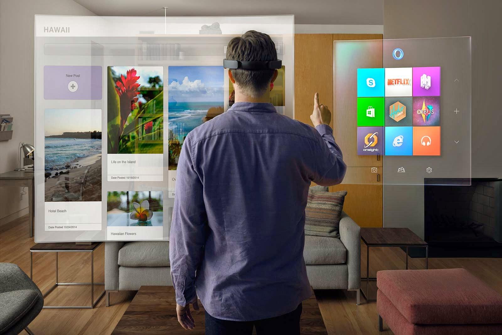 Windows 10 Hololens Virtual Reality