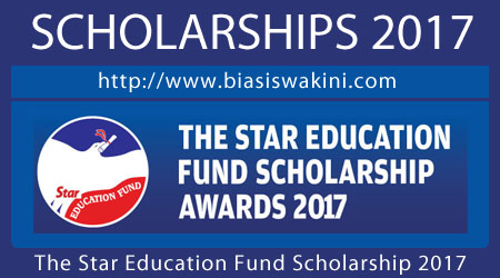 The Star Education Fund Scholarship 2017