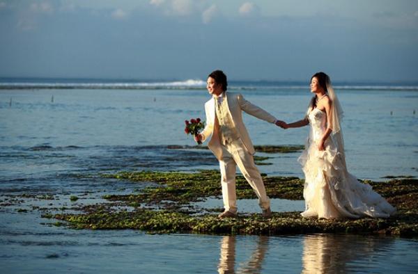 pre wedding di Tempat Wisata Pantai Balangan Bali