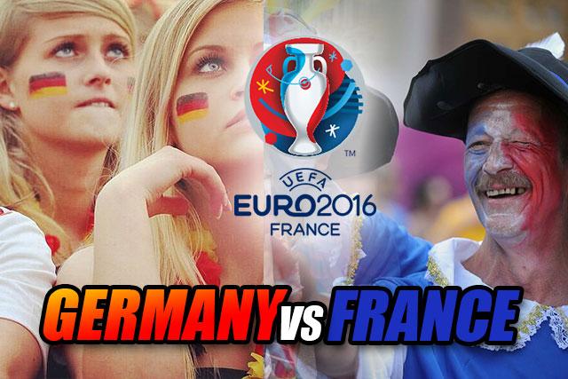 EUFA EURO 2016 Semi Final : Germany Vs France