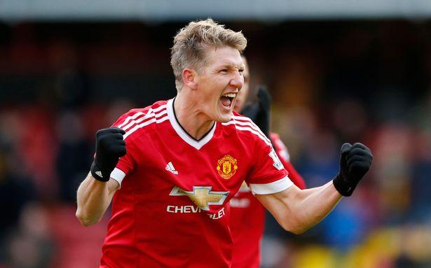 Bastian Schweinsteiger Naik Pangkat Di Manchester United