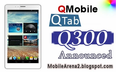 Tips Smart: QMobile announces a new tablet QTab Q300