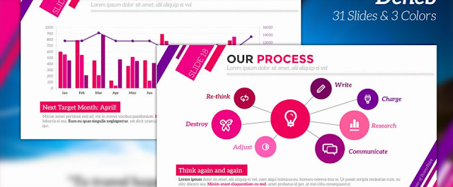 Download Template Powerpoint Keren Gratis - Deneb